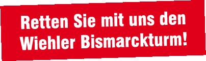 Retten Sie den Wiehler Bismarckturm